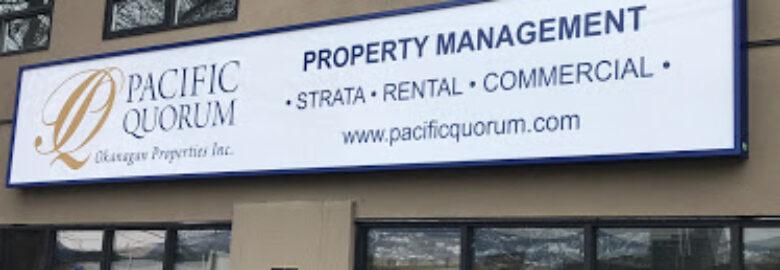Pacific Quorum (Okanagan) Properties Inc.