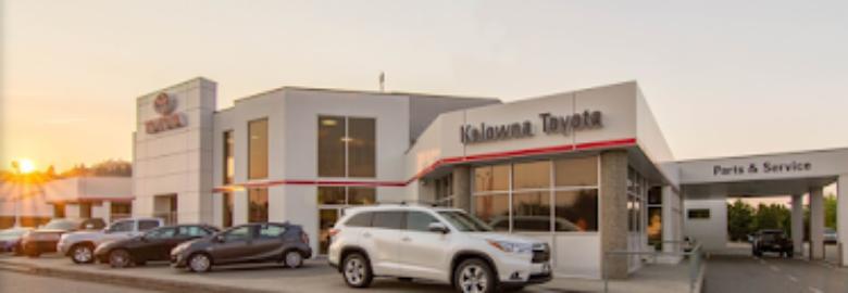 Kelowna Toyota Parts Department
