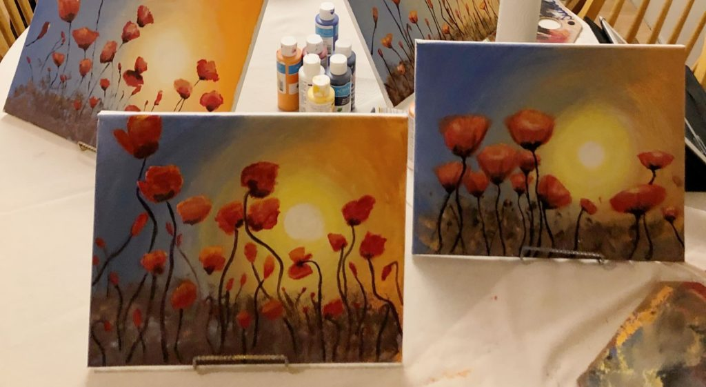 Create Your Own Sip & Paint Party